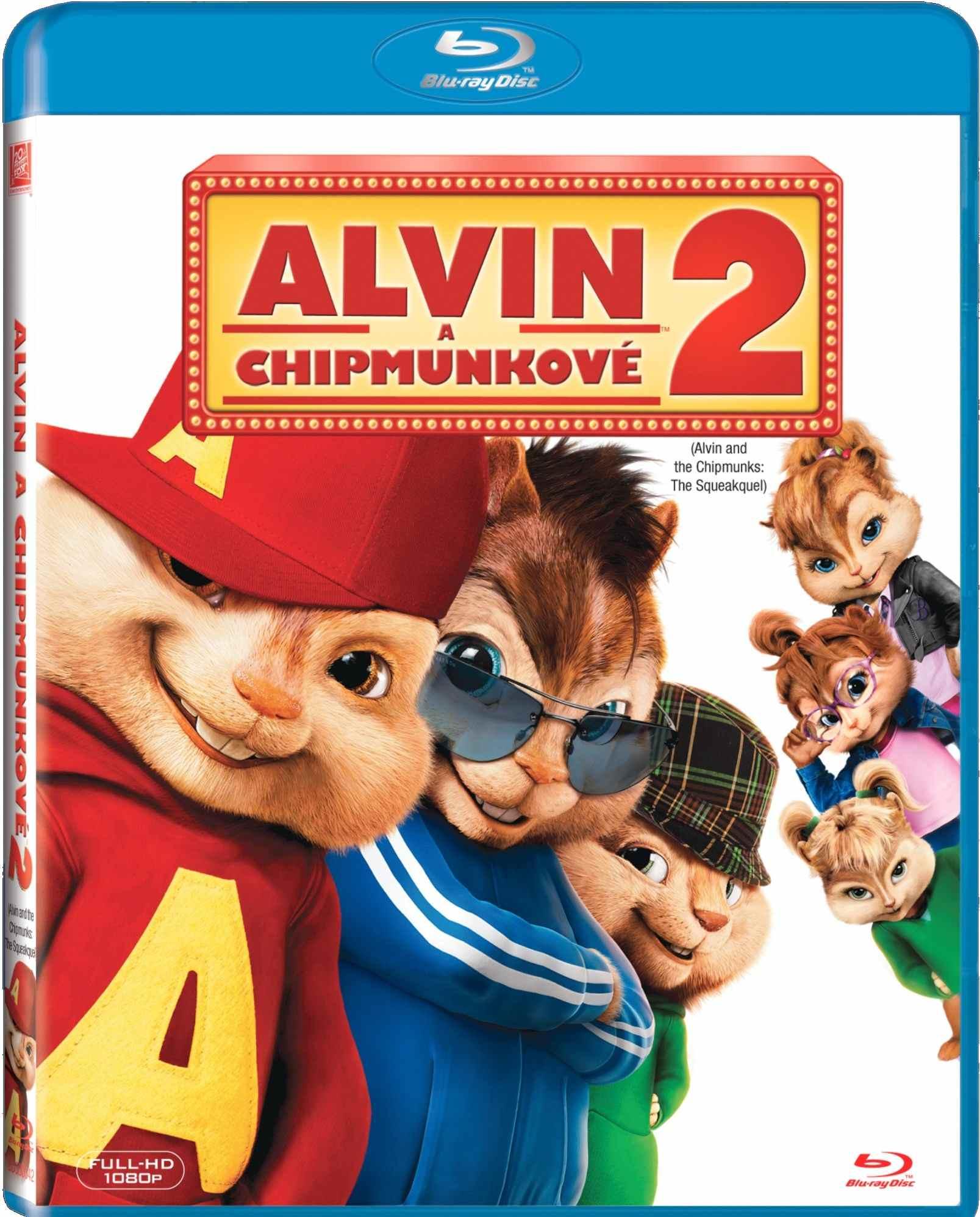 ALVIN A CHIPMUNKOVÉ 2 - Blu-ray