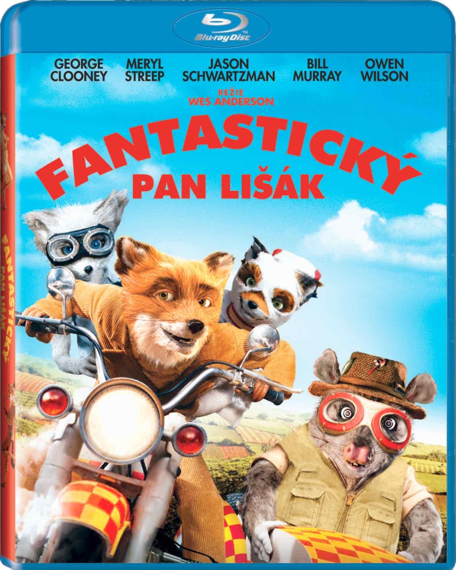 FANTASTICKÝ PAN LIŠÁK - Blu-ray (AKCE FOX)