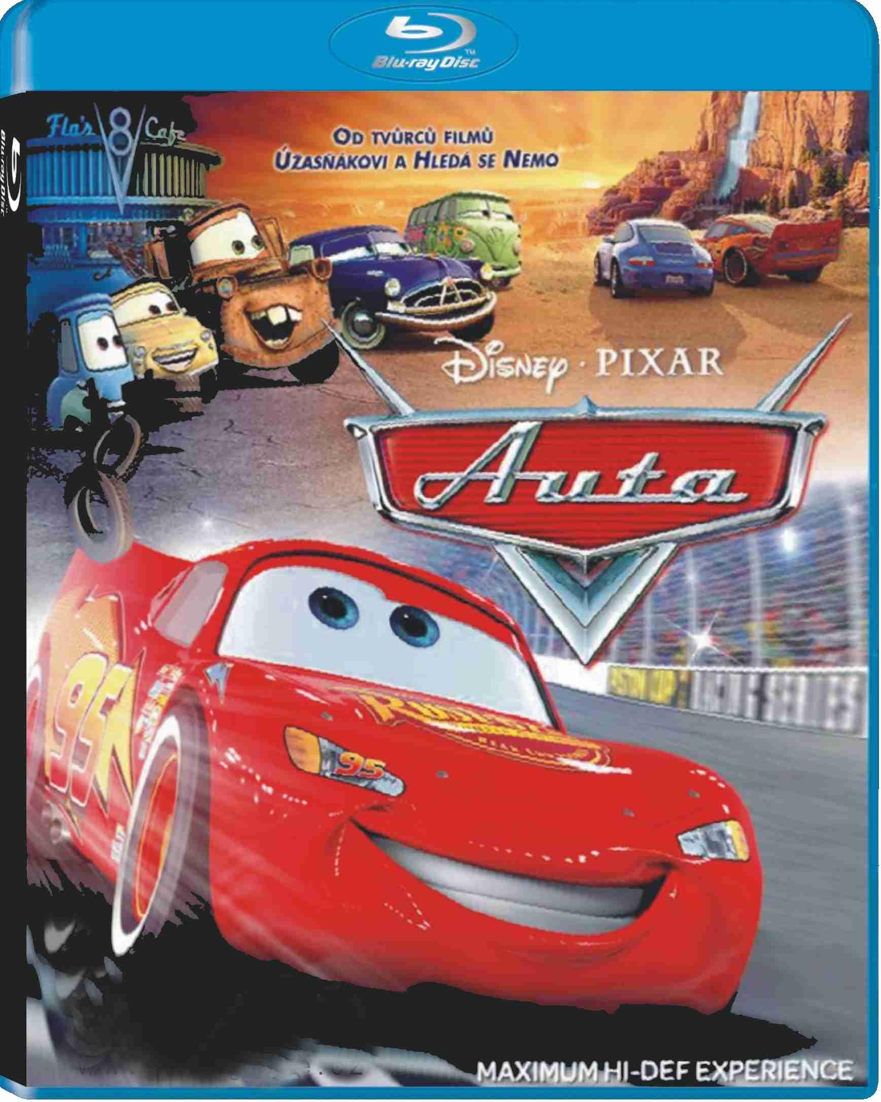 AUTA (Cars) - Blu-ray