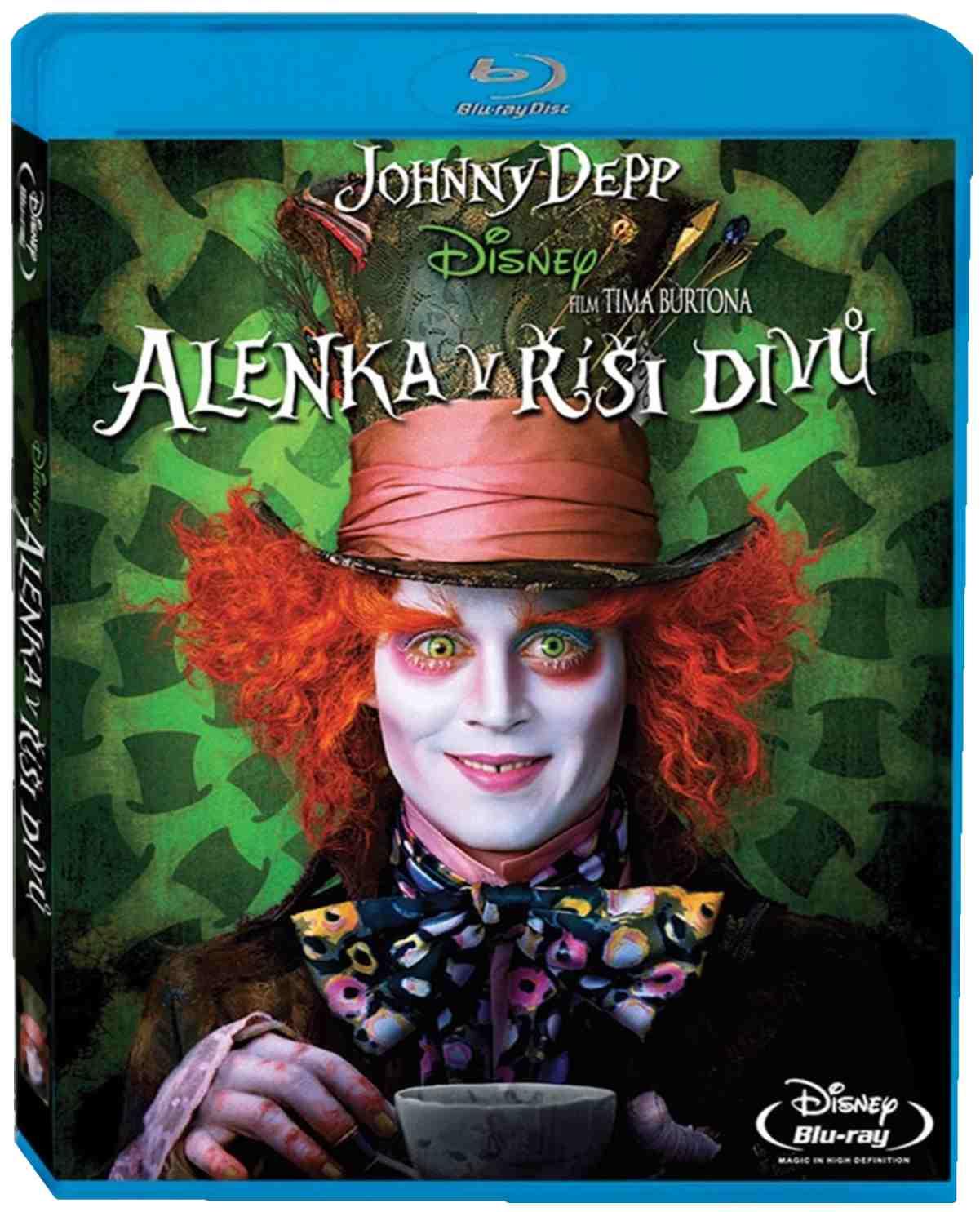 Alenka v říši divů - Blu-ray