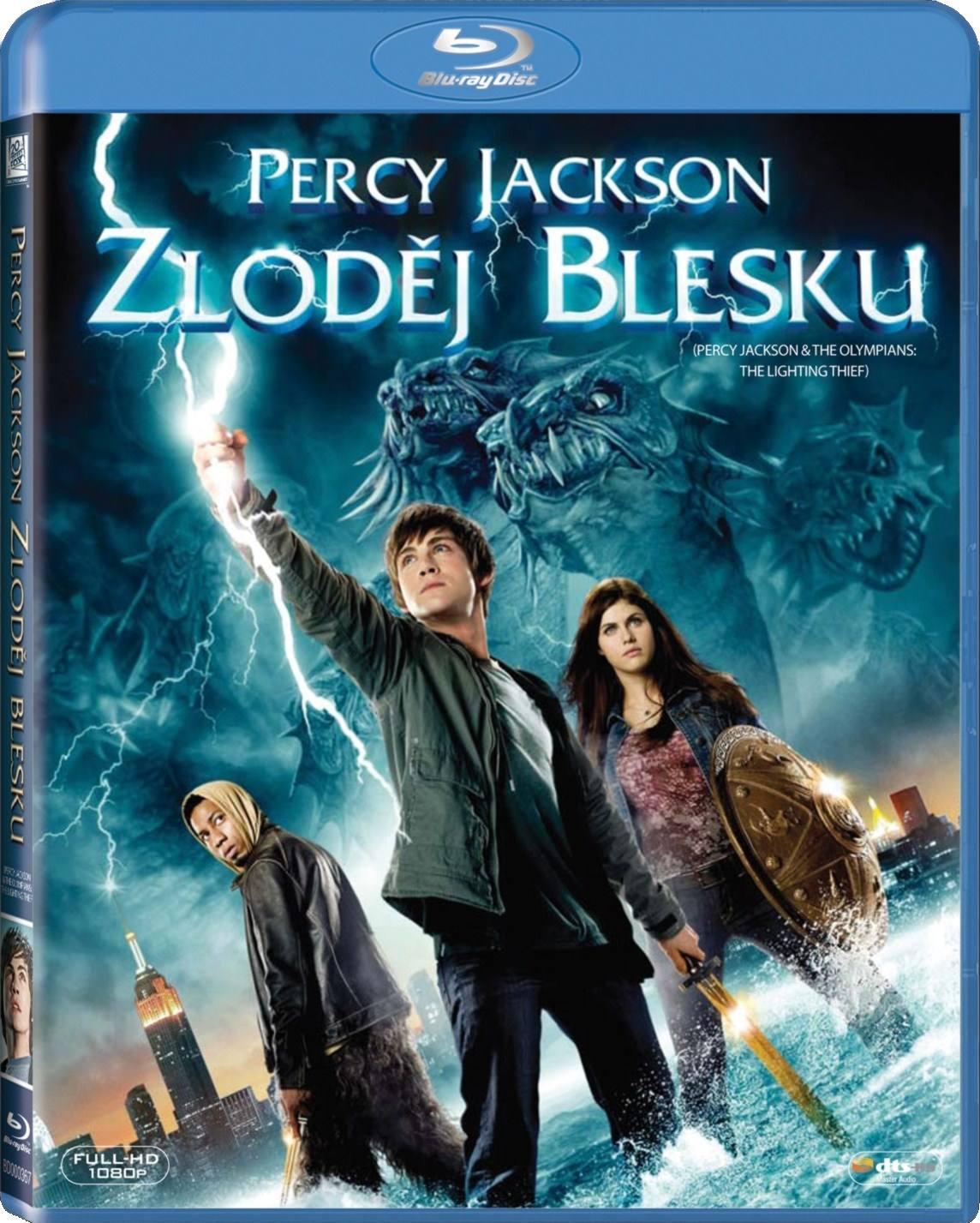 PERCY JACKSON: ZLODĚJ BLESKU - Blu-ray