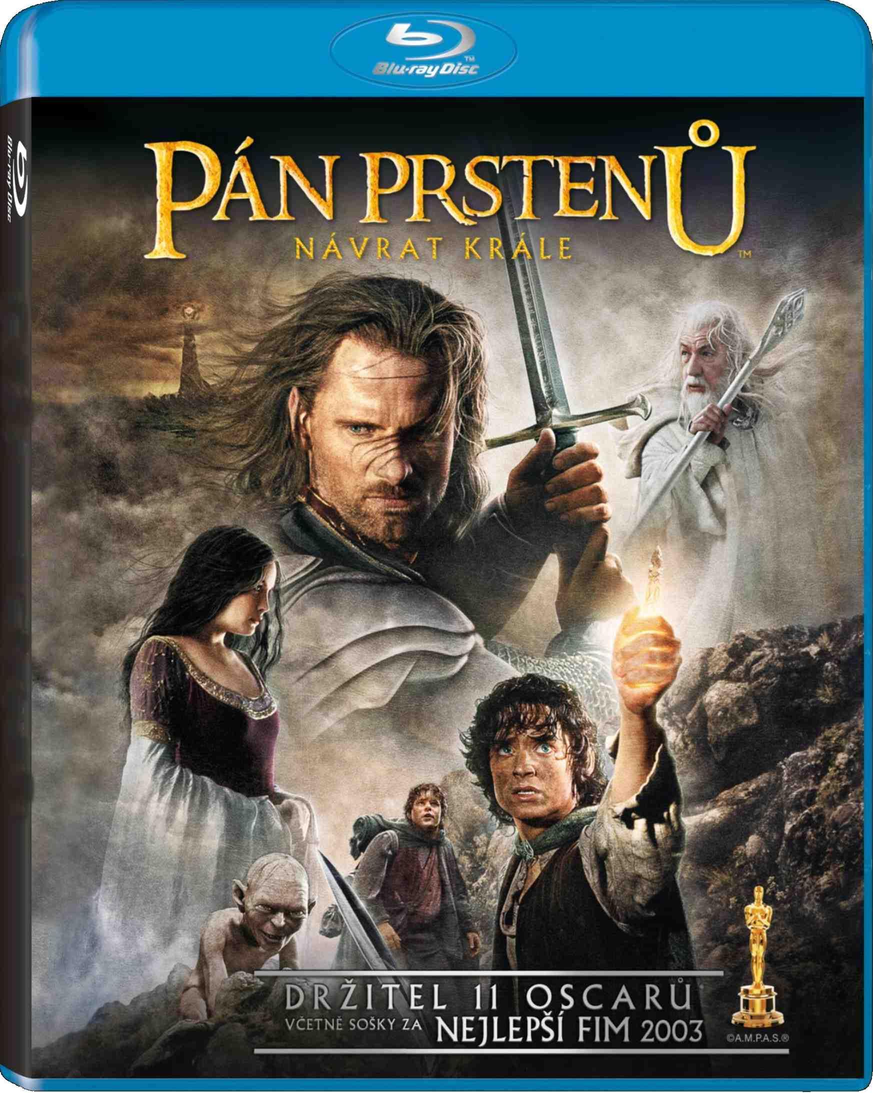 PÁN PRSTENŮ: NÁVRAT KRÁLE - Blu-ray