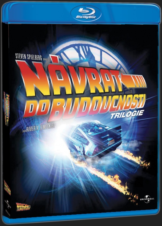NÁVRAT DO BUDOUCNOSTI (3BD) - Blu-ray