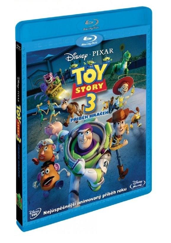 TOY STORY 3: PŘÍBĚH HRAČEK - Blu-ray + DVD