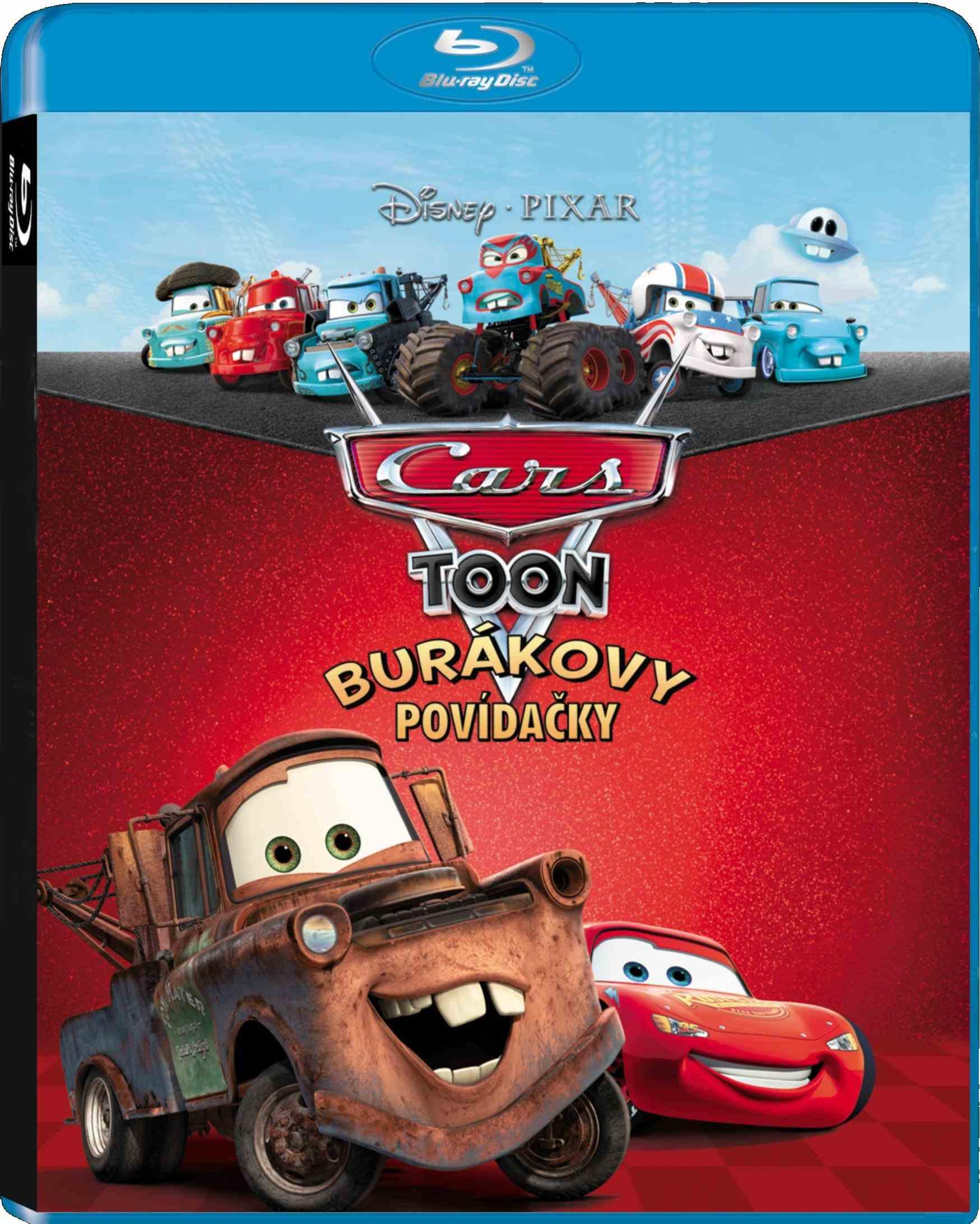 CARS TOON: BURÁKOVY POVÍDAČKY - Blu-ray