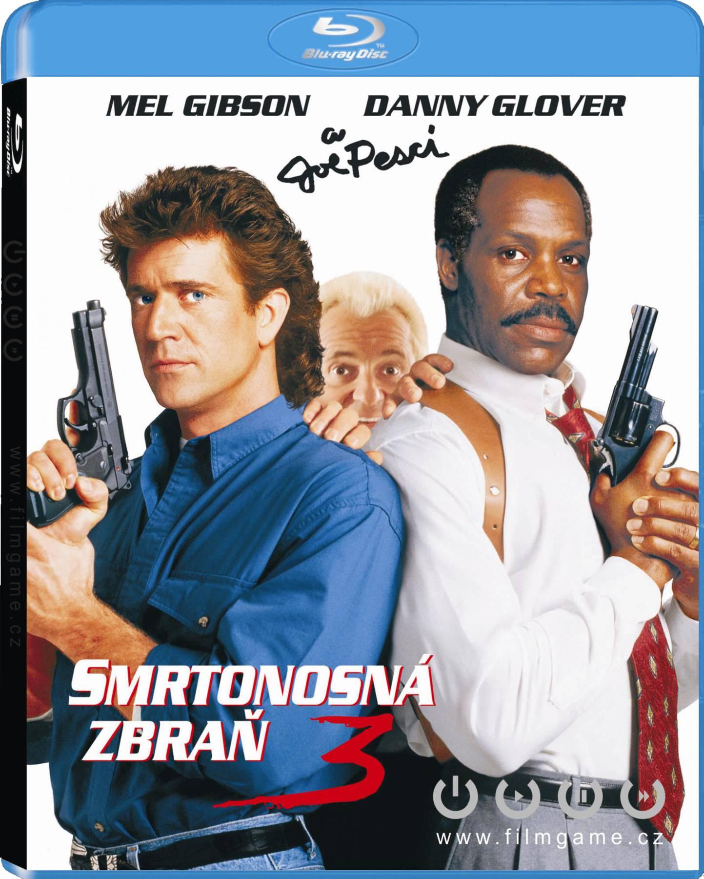 Smrtonosná zbraň 3 - Blu-ray