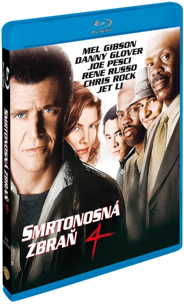 Smrtonosná zbraň 4 - Blu-ray