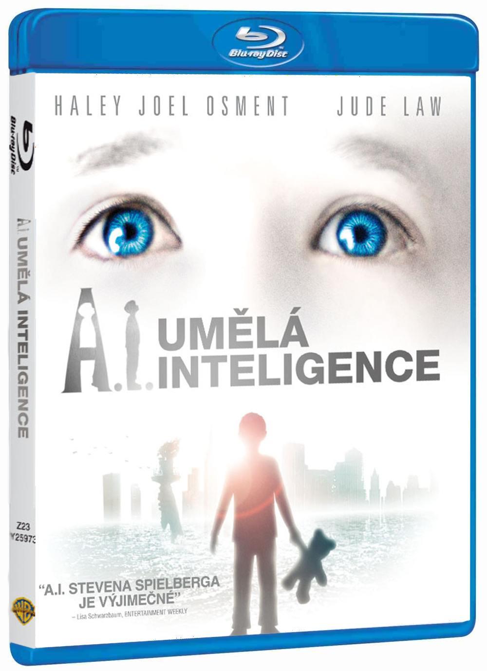 A.I. UMĚLÁ INTELIGENCE - Blu-ray