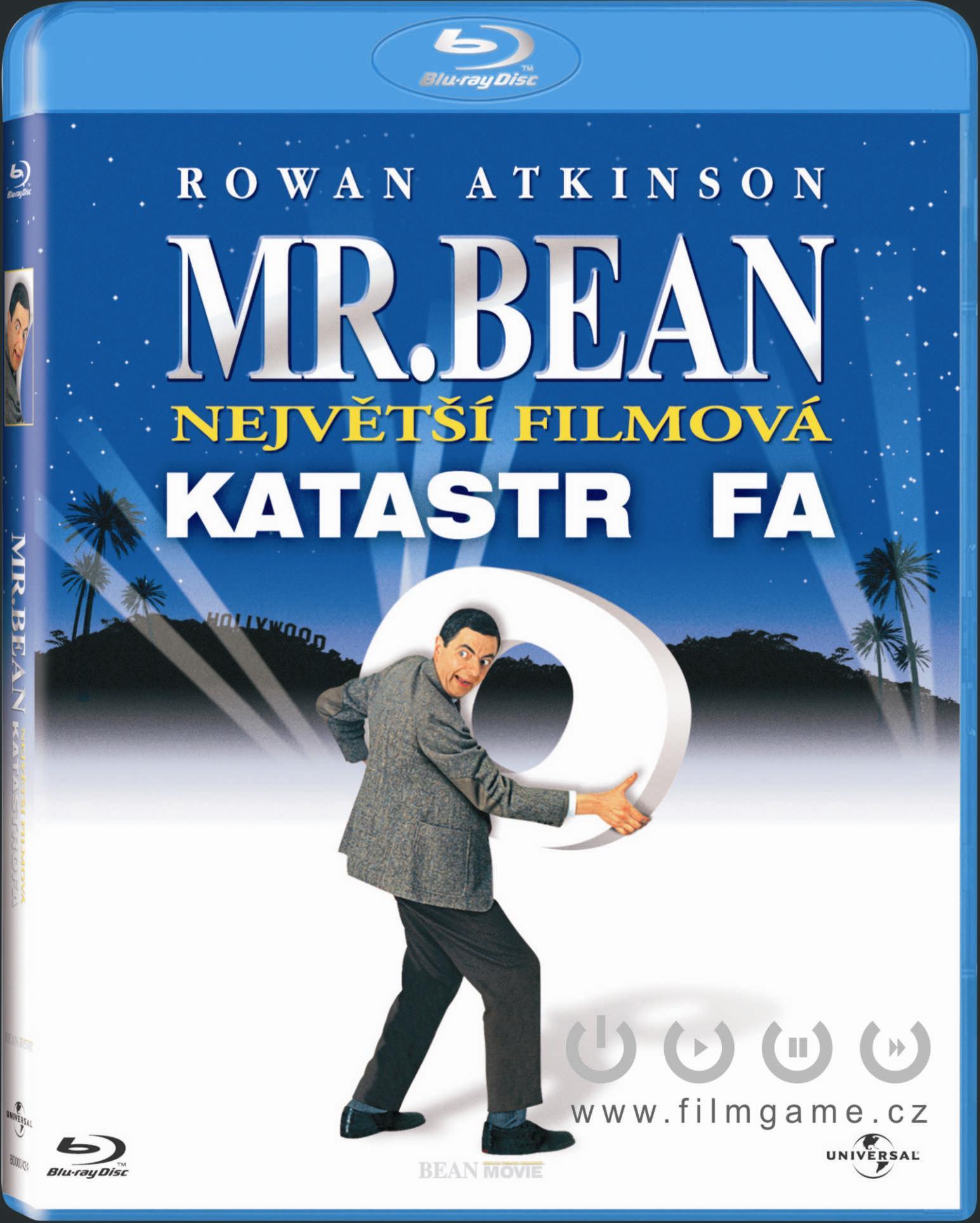 MR BEAN - NEJVĚTŠÍ FILMOVÁ KATASTROFA - Blu-ray