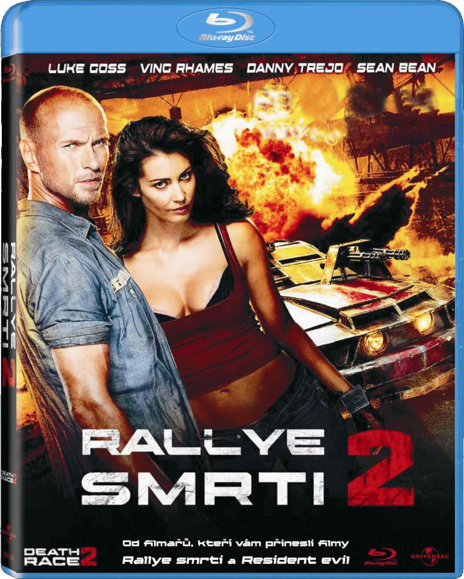 RALLYE SMRTI 2 - Blu-ray