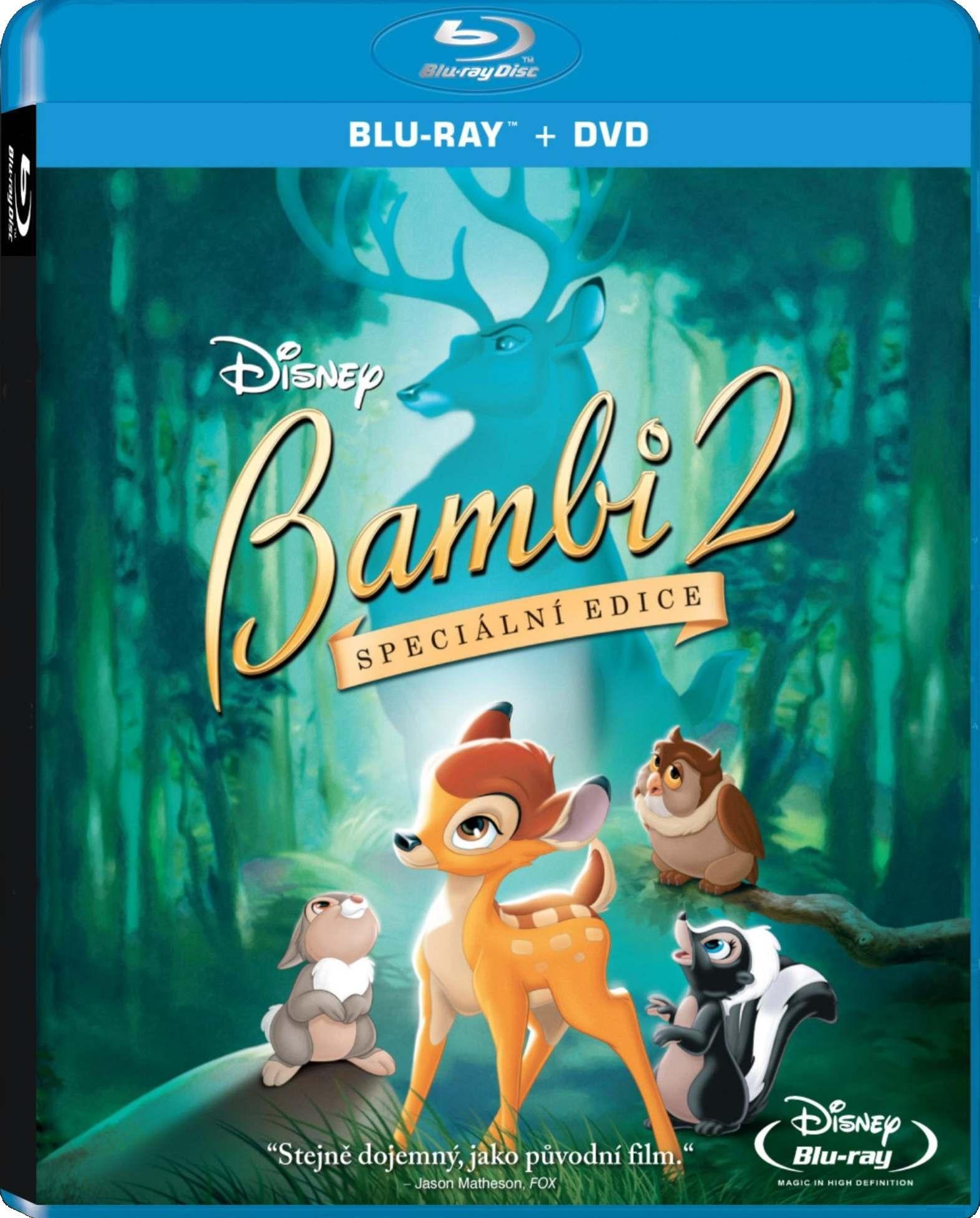 BAMBI 2 - Blu-ray+DVD (Combo pack)