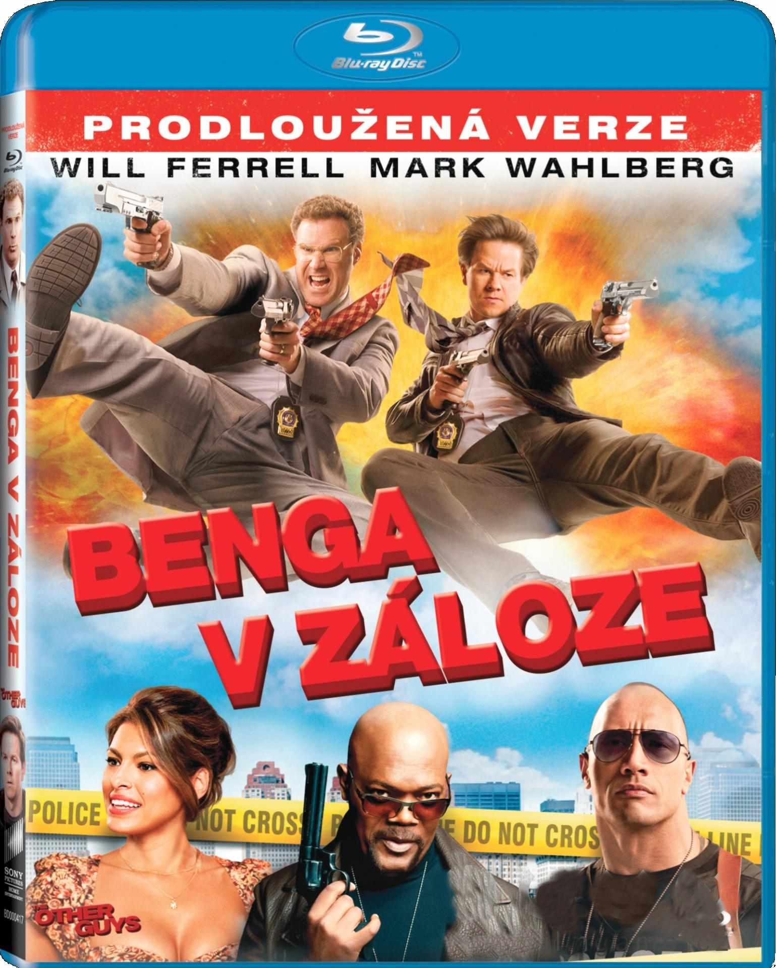 BENGA V ZÁLOZE - Blu-ray