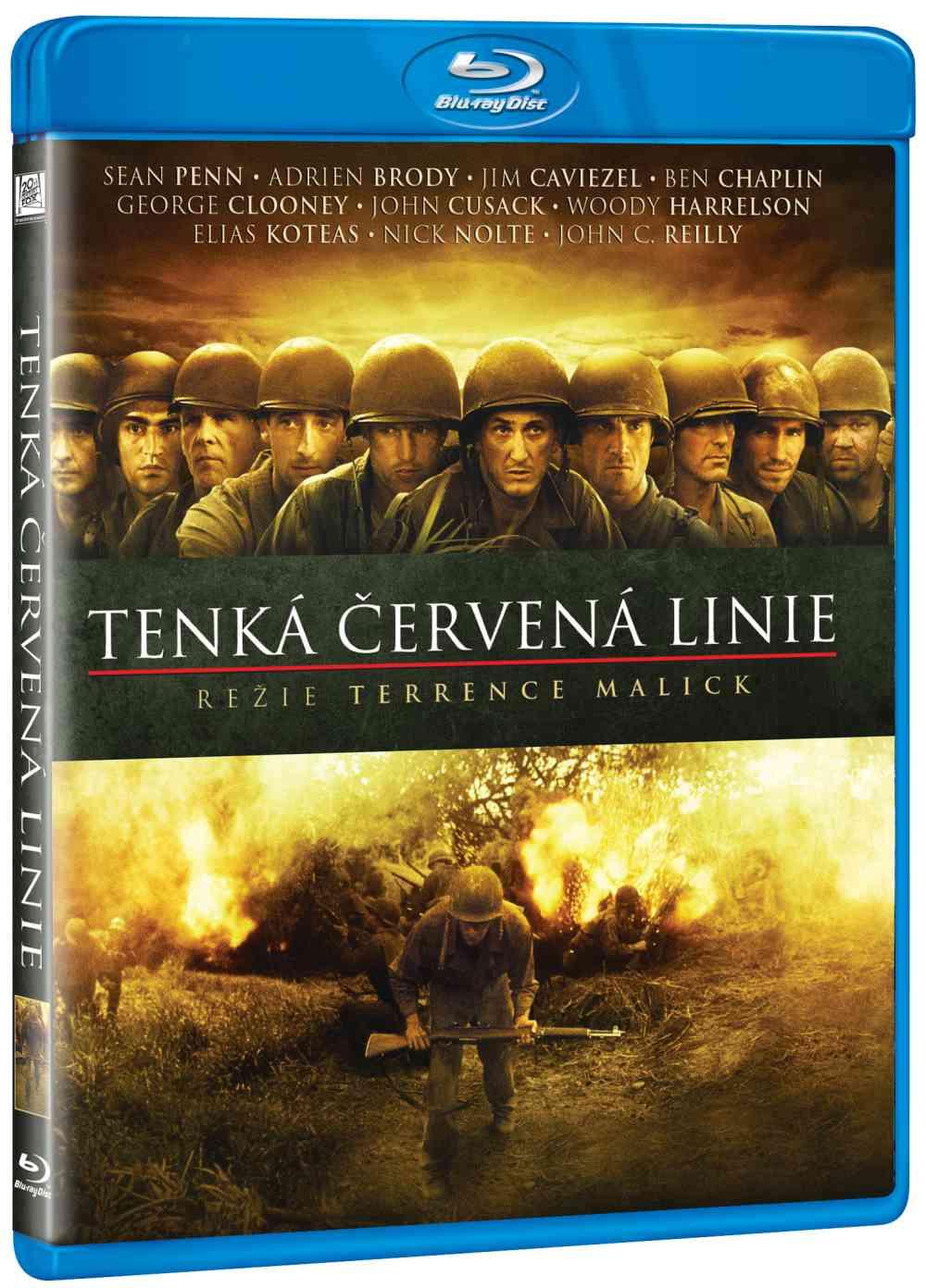 TENKÁ ČERVENÁ LINIE - Blu-ray