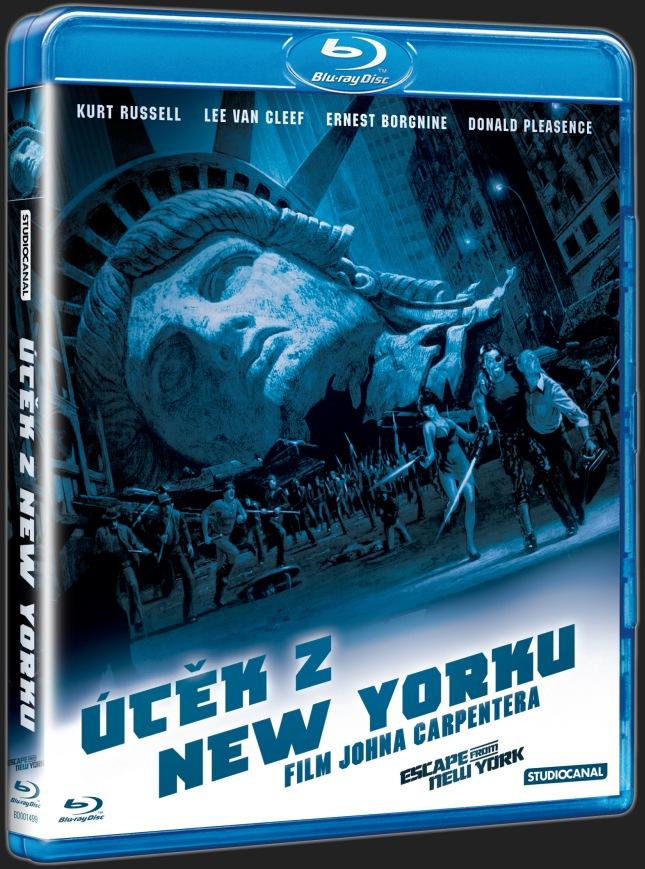 ÚTĚK Z NEW YORKU - Blu-ray