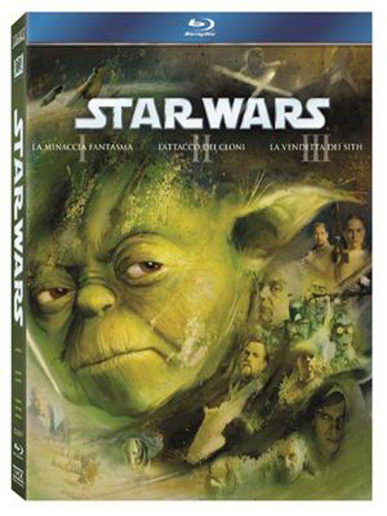 STAR WARS 1, 2, 3 KOLEKCE - Blu-ray