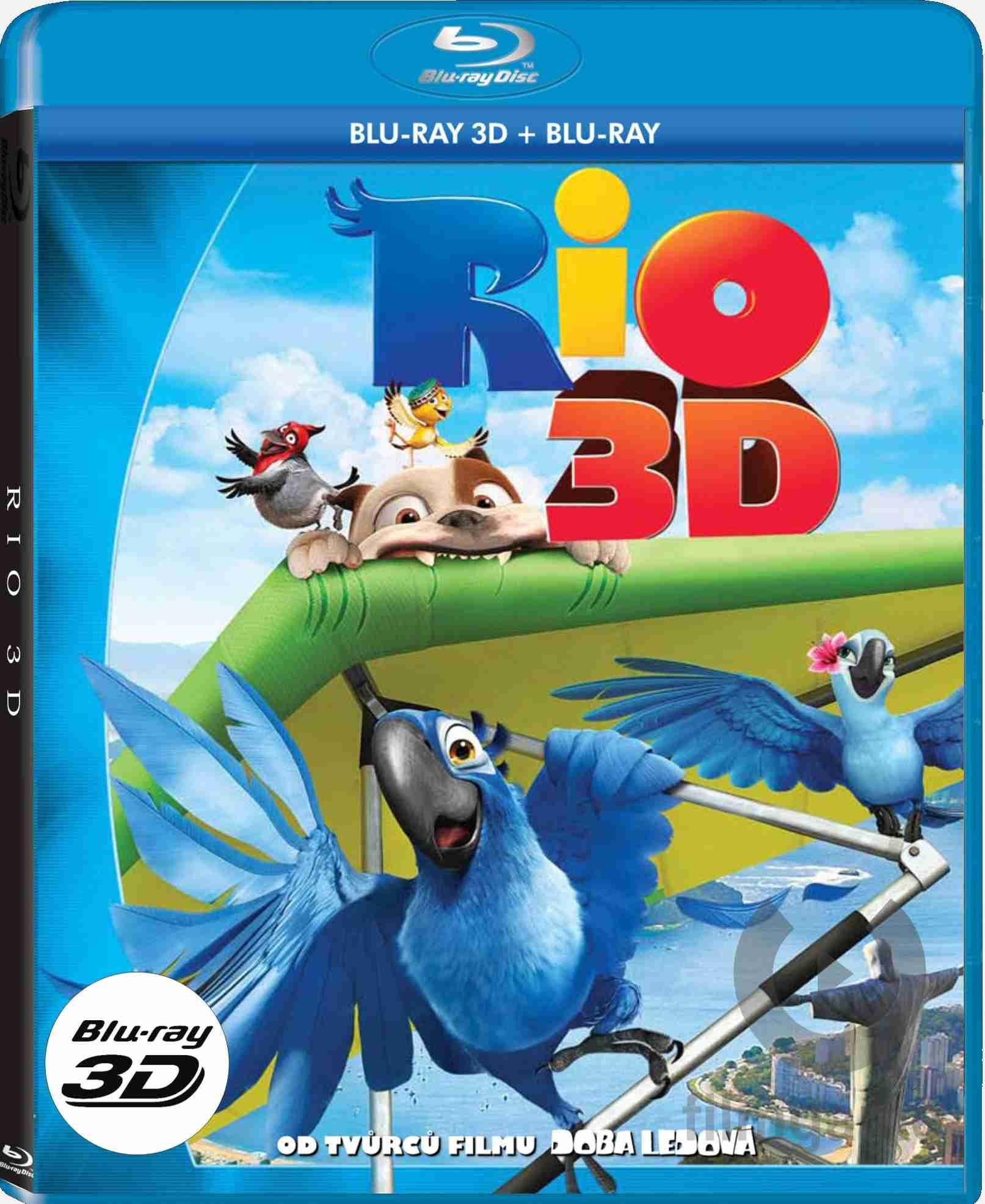 RIO - Blu-ray 3D+2D (2BD)
