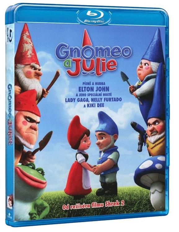 GNOMEO A JULIE - Blu-ray