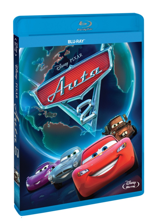 AUTA 2 (Cars 2) - Blu-ray+DVD