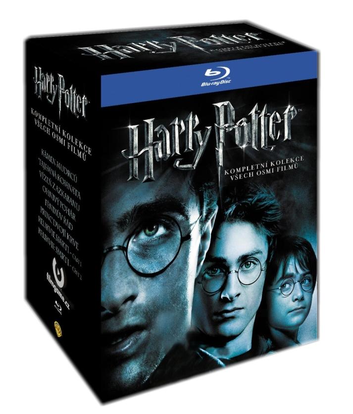 HARRY POTTER - KOLEKCE 1-7 ( 11 DISKŮ ) - Blu-ray