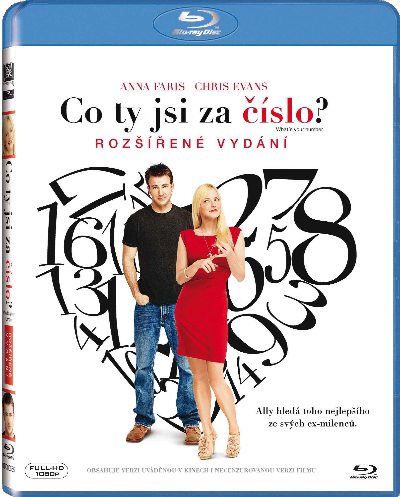 CO TY JSI ZA ČÍSLO? - Blu-ray