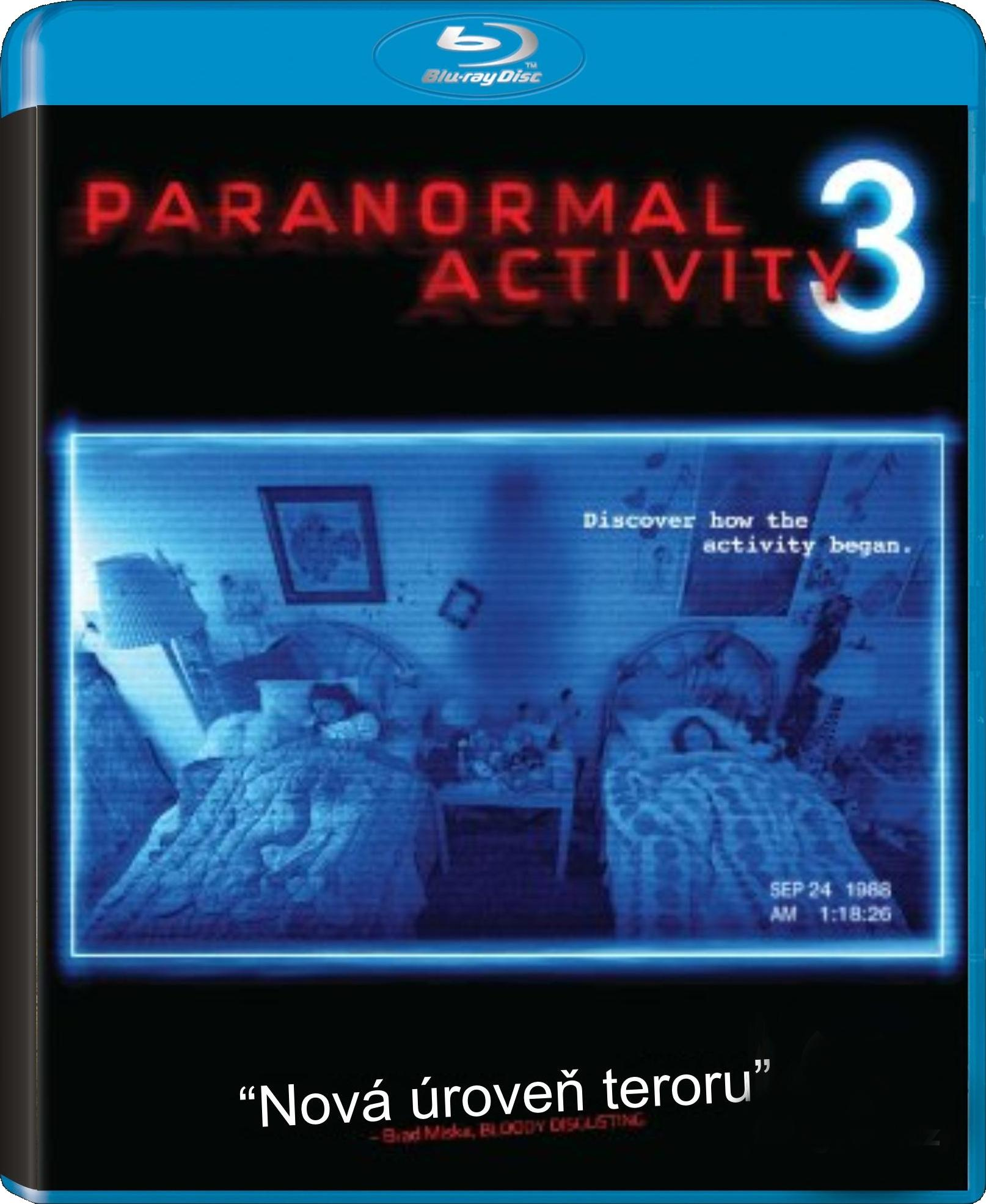 PARANORMAL ACTIVITY 3 - Blu-ray