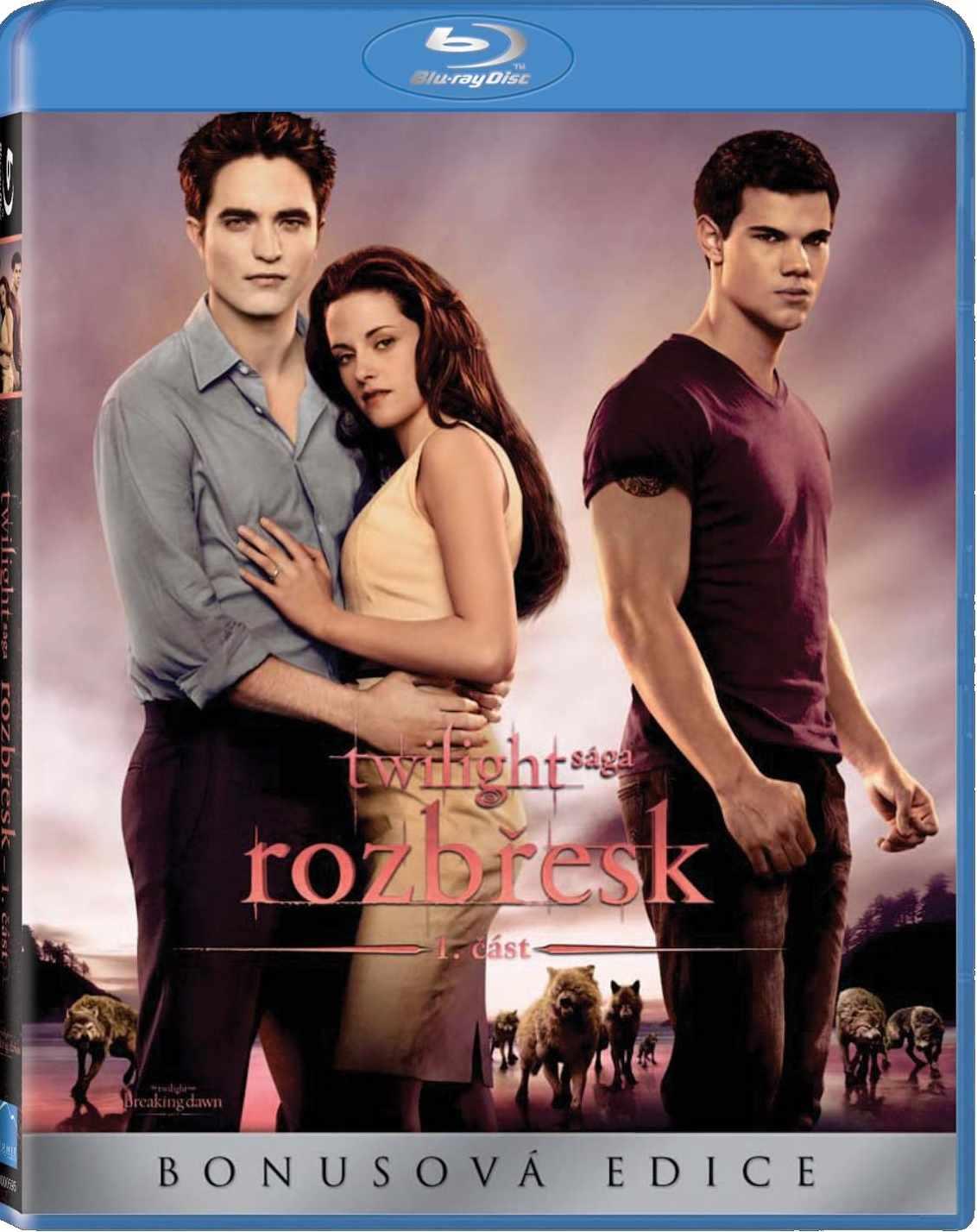 TWILIGHT SÁGA: ROZBŘESK - 1. ČÁST - Blu-ray