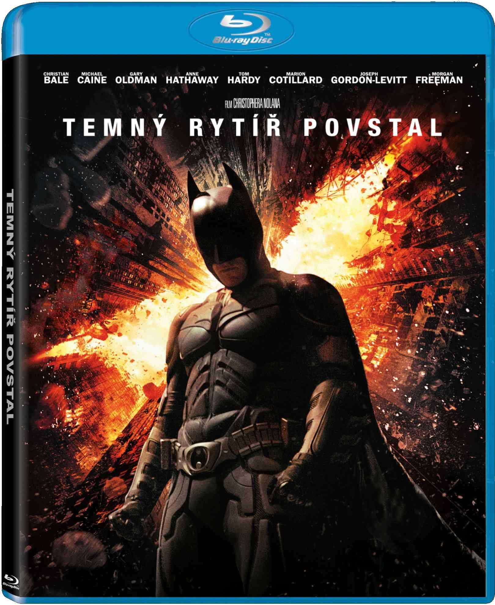 TEMNÝ RYTÍŘ POVSTAL (2 BD) - Blu-ray