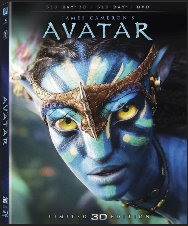 AVATAR 3D - Blu-ray 3D+2D + DVD