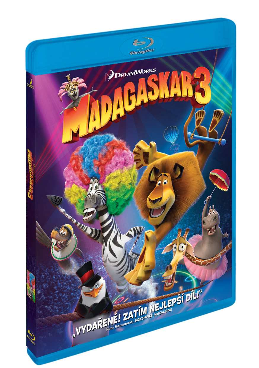 MADAGASKAR 3 - Blu-ray