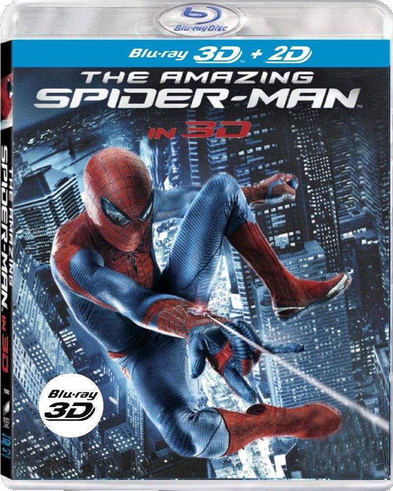 AMAZING SPIDER-MAN - Blu-ray 3D + 2D