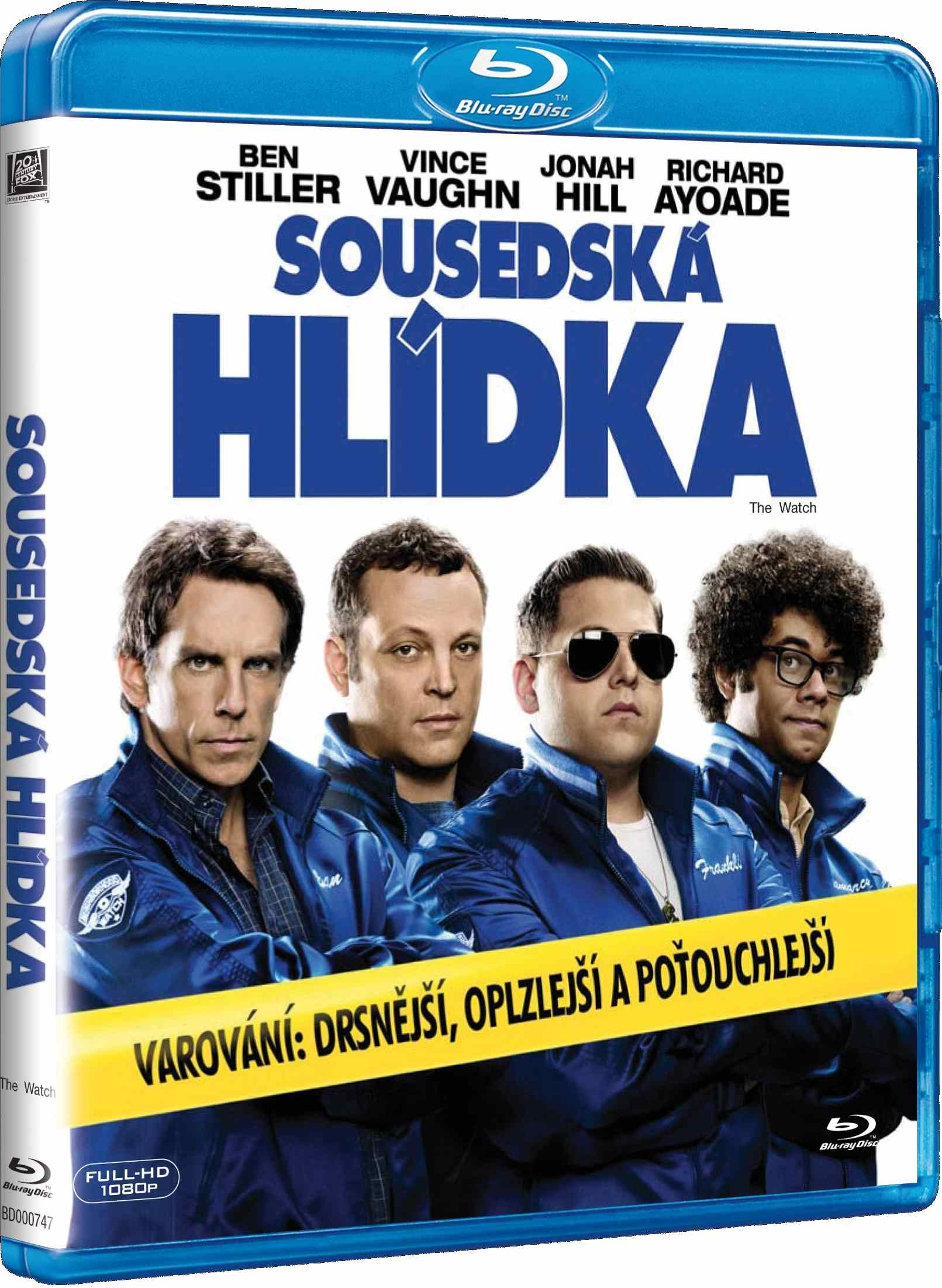 SOUSEDSKÁ HLÍDKA - Blu-ray