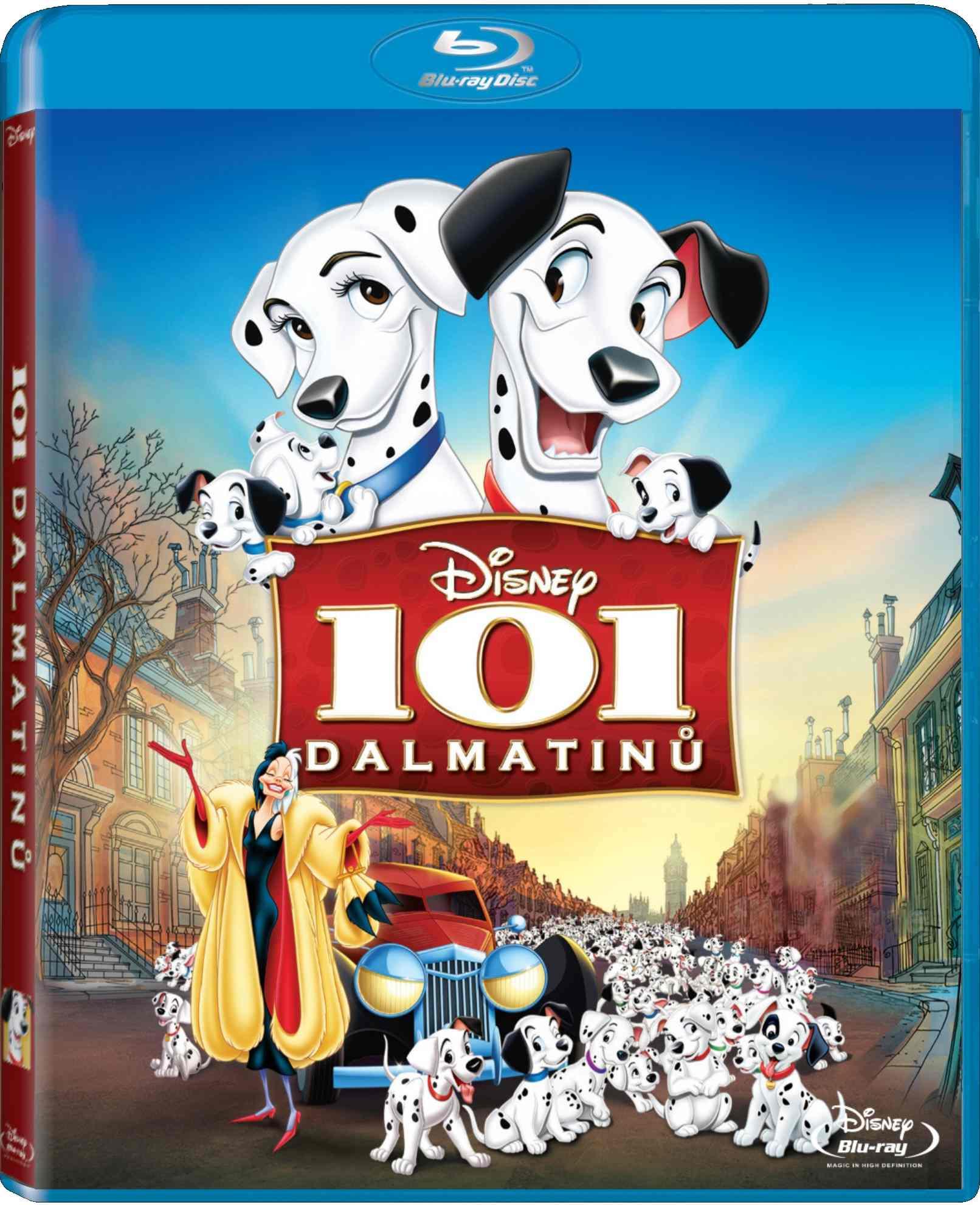 101 DALMATINŮ (speciální edice) - Blu-ray
