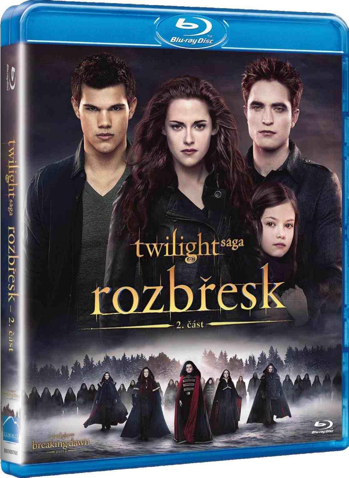 TWILIGHT SÁGA: ROZBŘESK - 2. ČÁST - Blu-ray