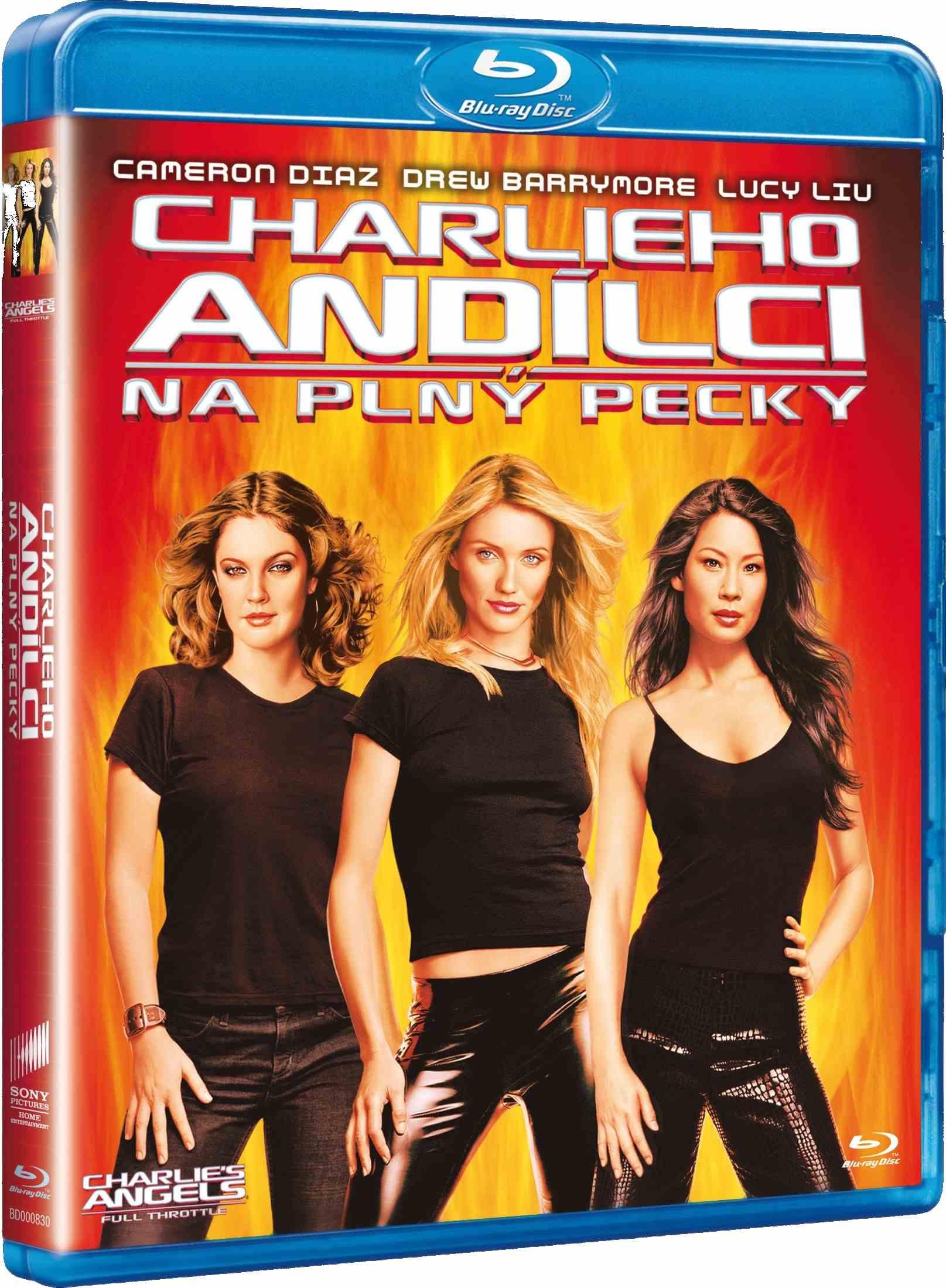 CHARLIEHO ANDÍLCI: NA PLNÝ PECKY - Blu-ray