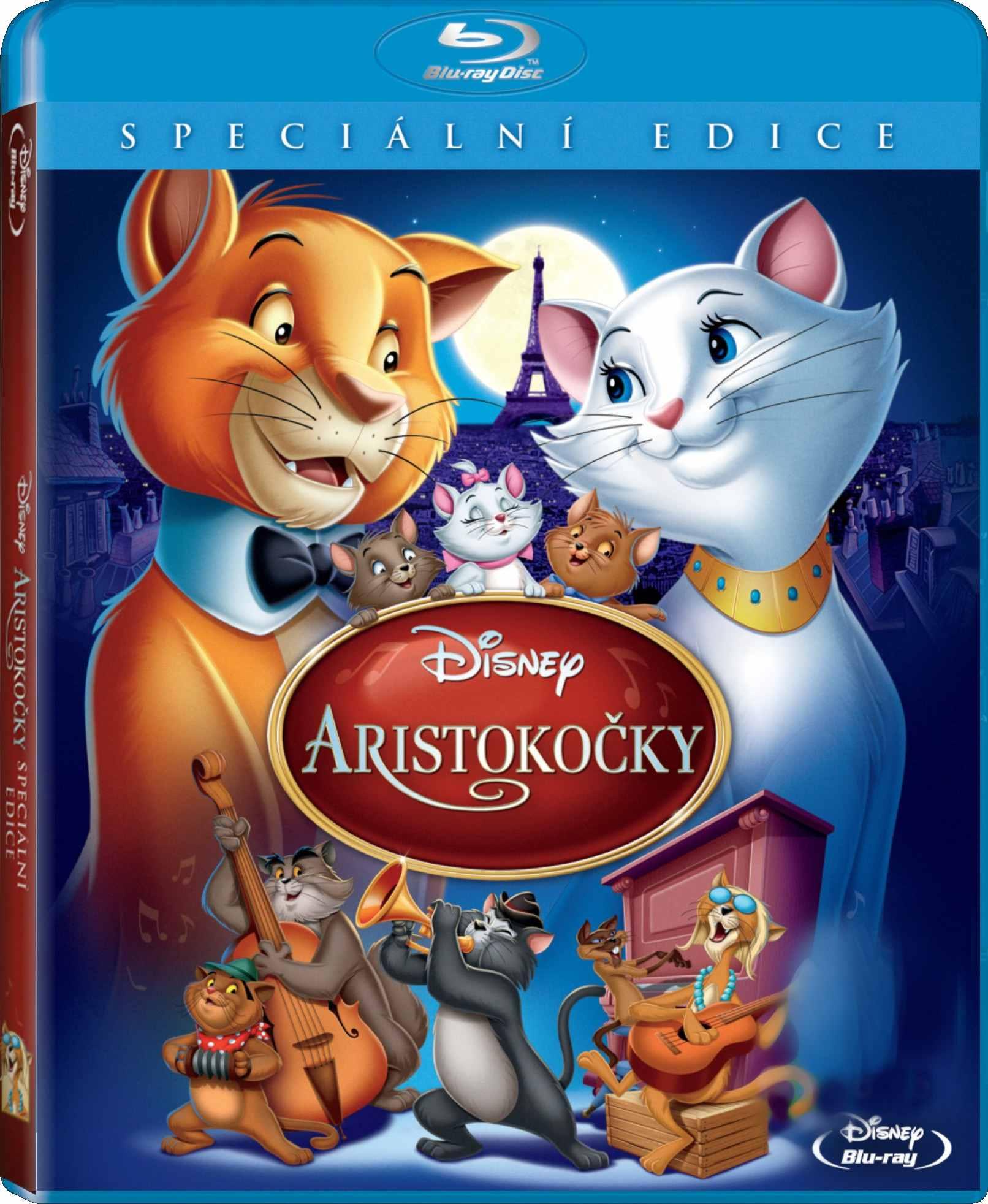 ARISTOKOČKY (speciální edice) - Blu-ray