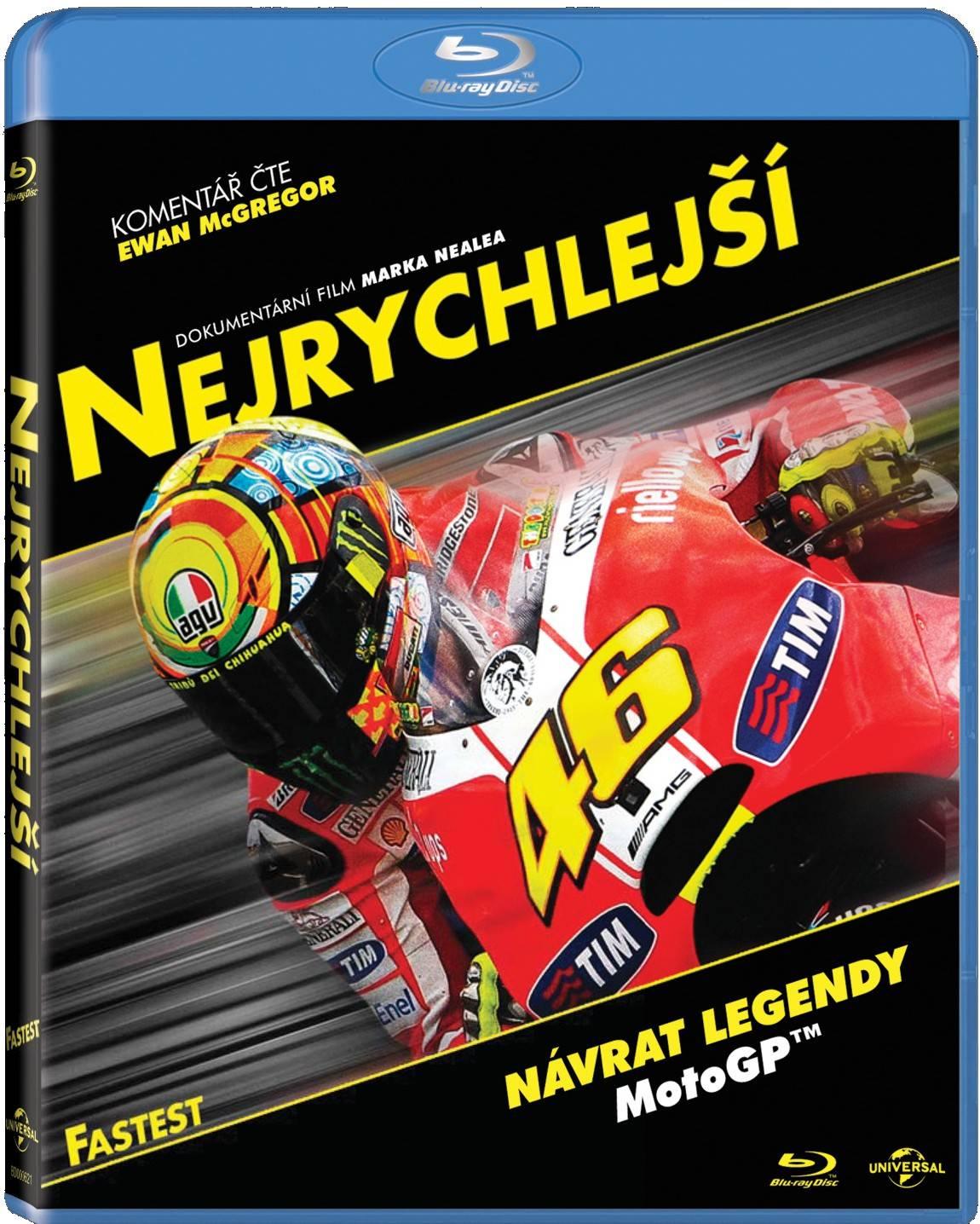 NEJRYCHLEJŠÍ - Blu-ray