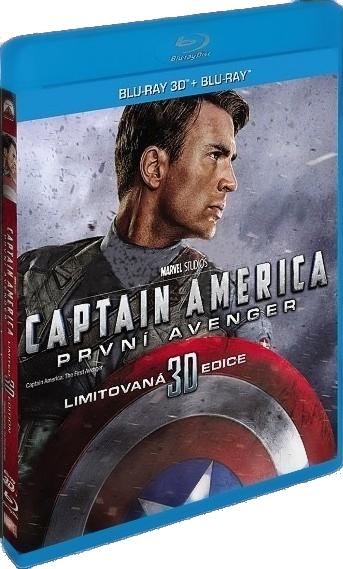 CAPTAIN AMERICA: PRVNÍ AVENGER - Blu-ray 3D + 2D (2BD)