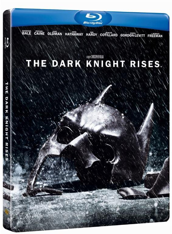 TEMNÝ RYTÍŘ POVSTAL (2 BD) - Blu-ray STEELBOOK