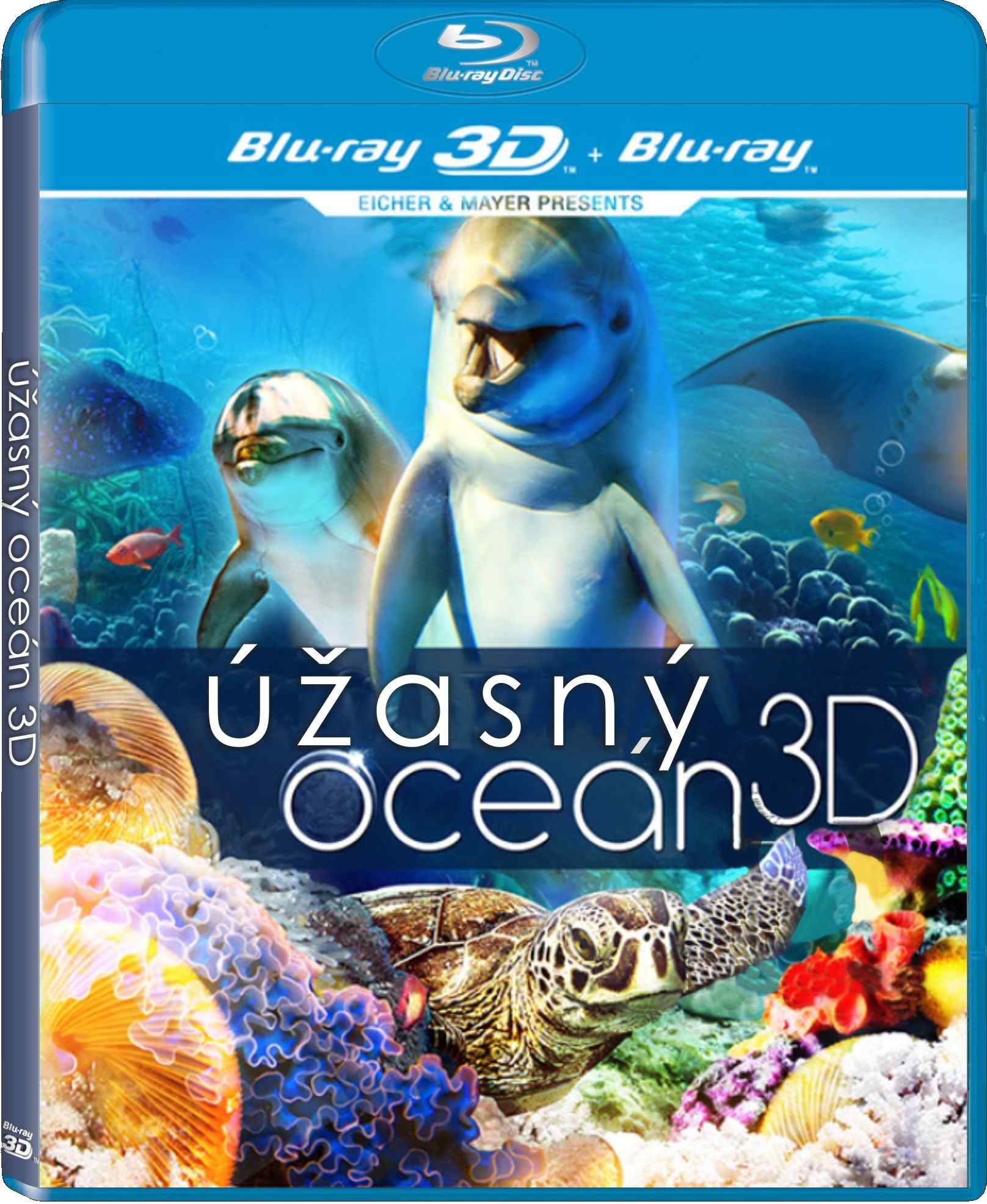 ÚŽASNÝ OCEÁN - Blu-ray 3D + 2D