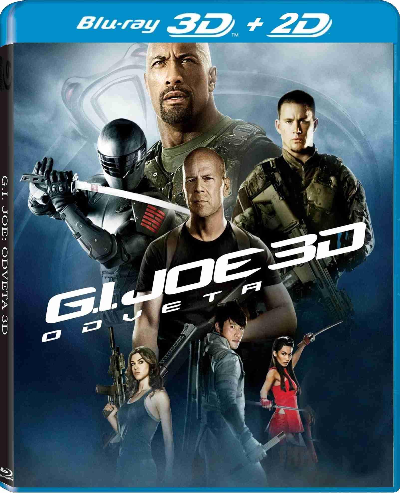 G.I. JOE 2: ODVETA - Blu-ray 3D + 2D