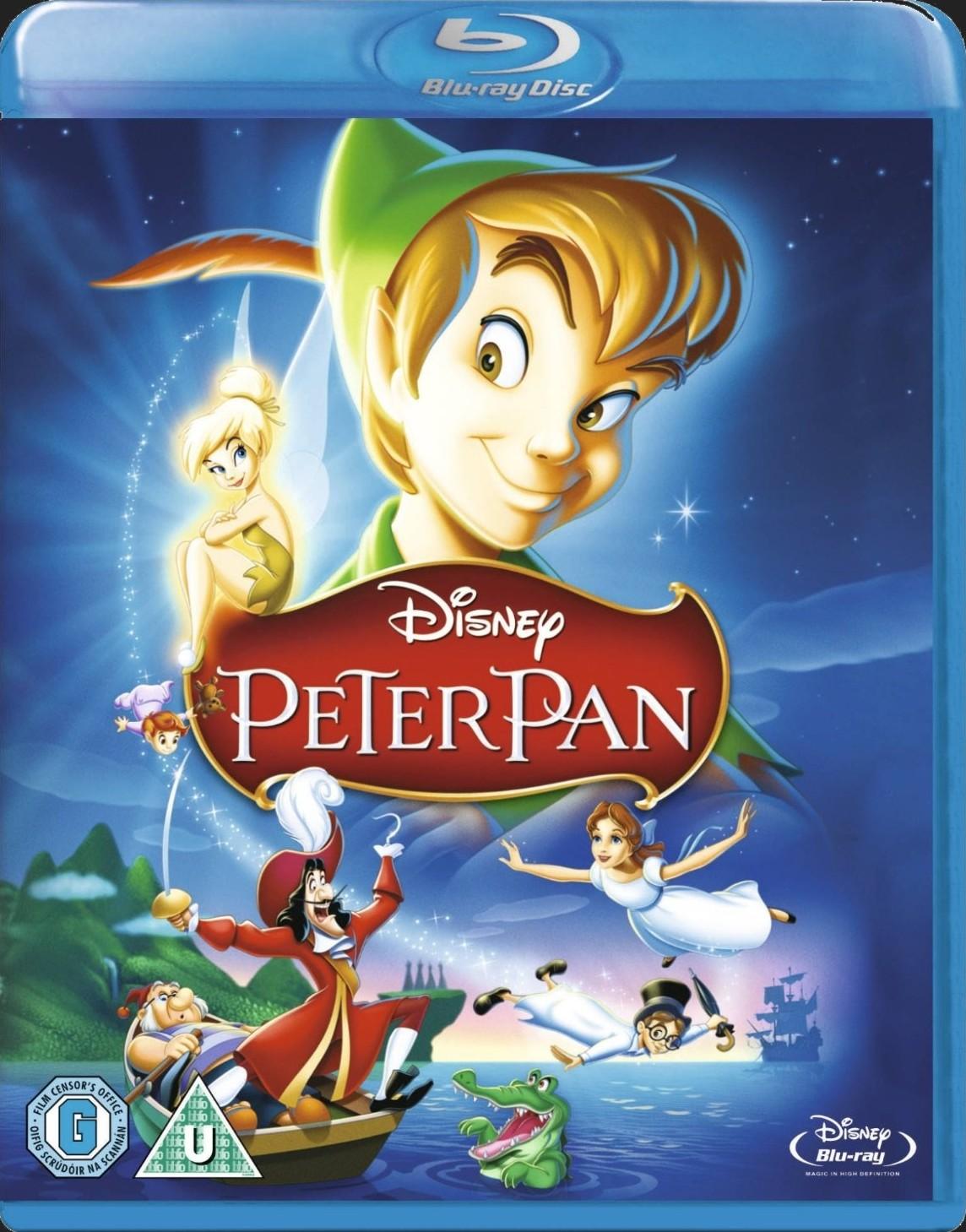 PETR PAN (speciální edice, Disney) - Blu-ray