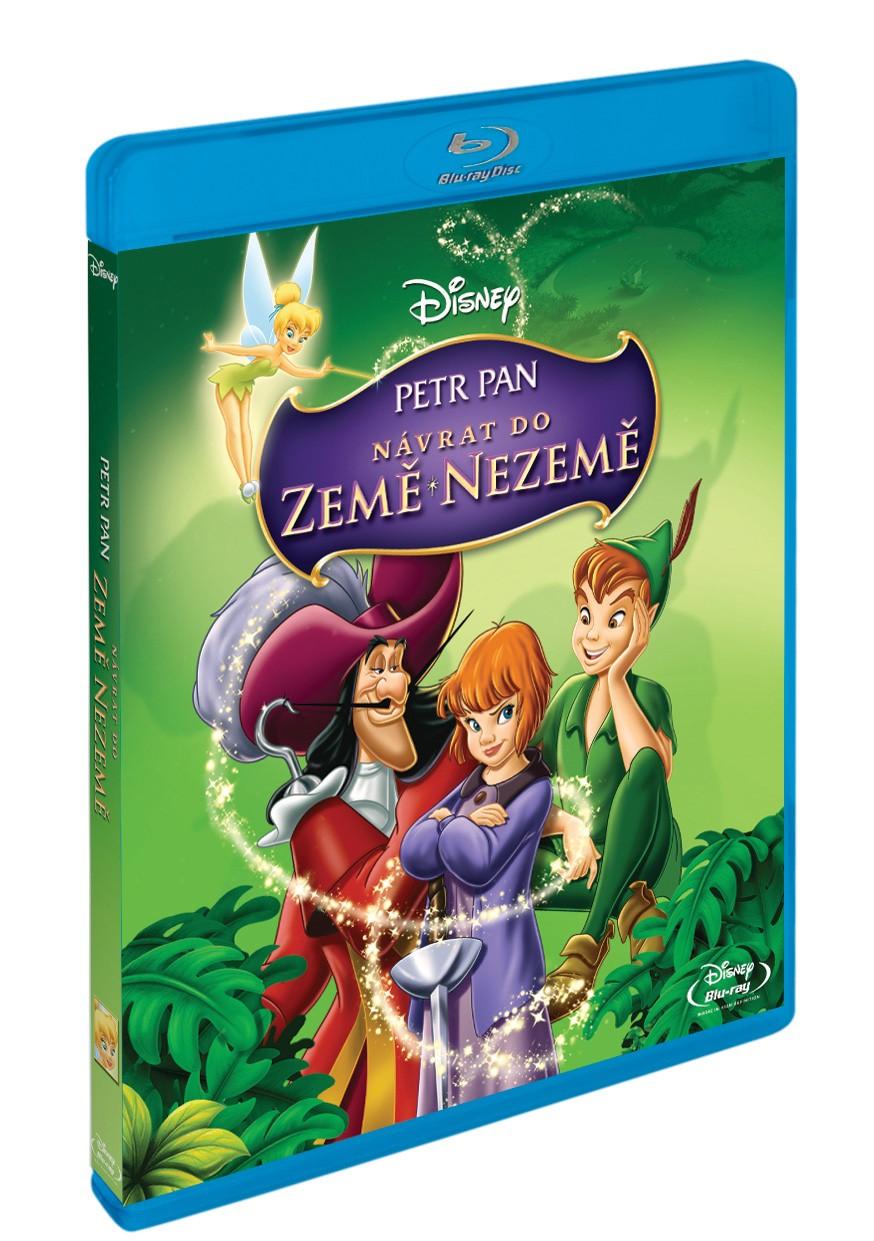 PETR PAN: NÁVRAT DO ZEMĚ NEZEMĚ (speciální edice, Disney) - Blu-ray