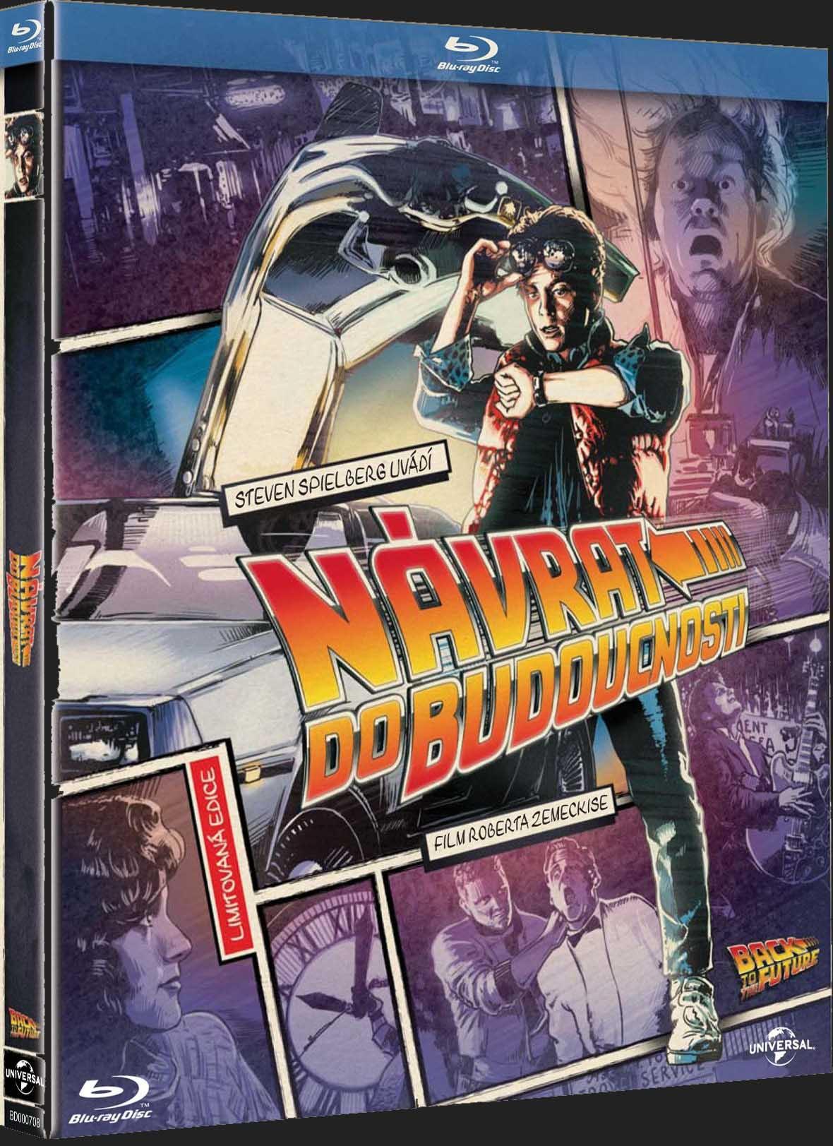 NÁVRAT DO BUDOUCNOSTI (komiksová edice) - Blu-ray