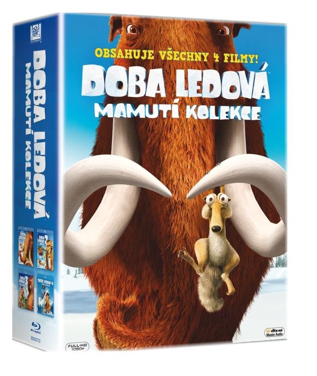 DOBA LEDOVÁ - MAMUTÍ KOLEKCE 1-4 (4 BD) - Blu-ray