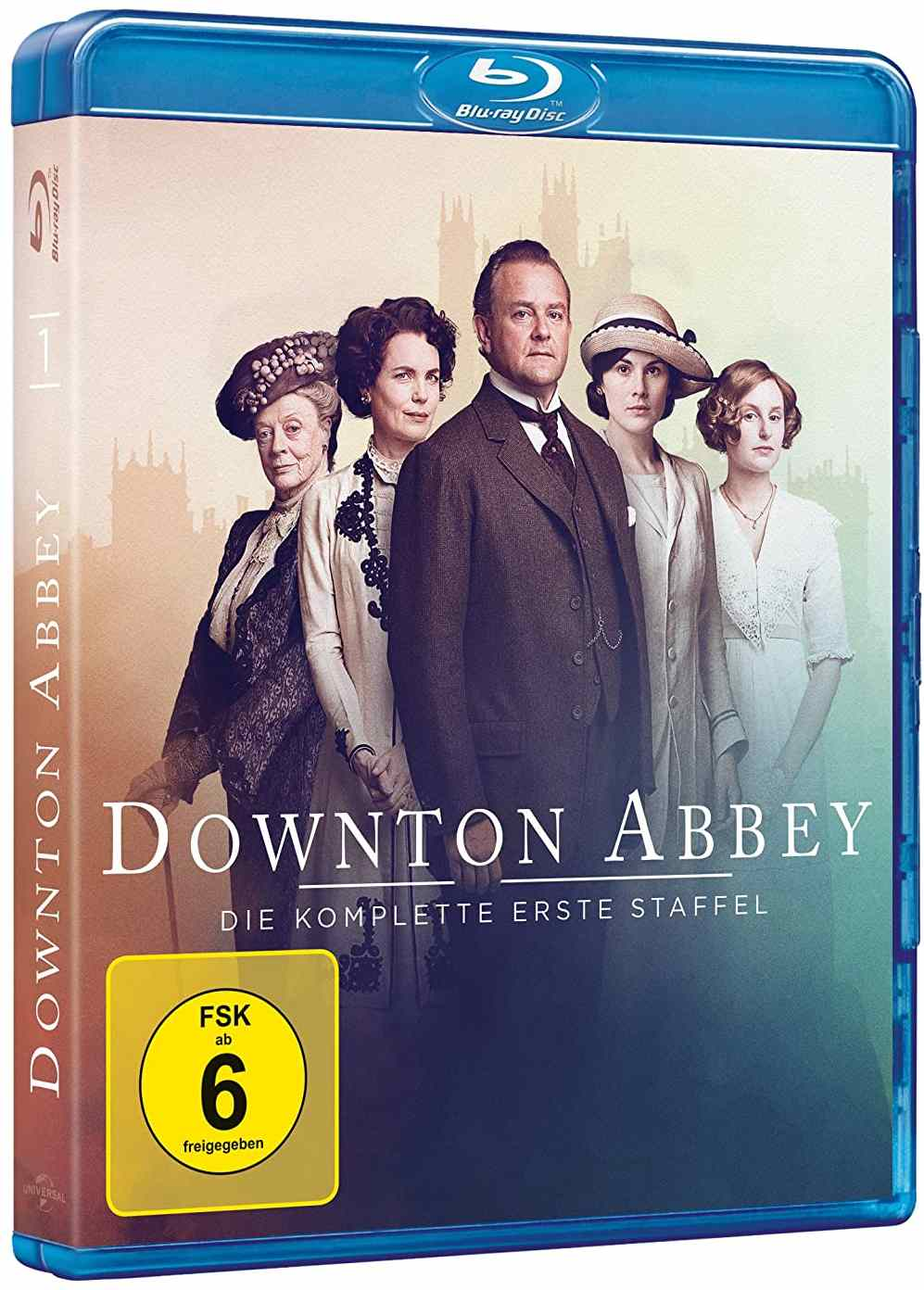 PANSTVÍ DOWNTON 1+2 (6 BD) - Blu-ray