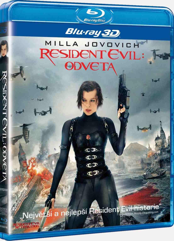 RESIDENT EVIL: ODVETA O-ring - Blu-ray 3D + 2D