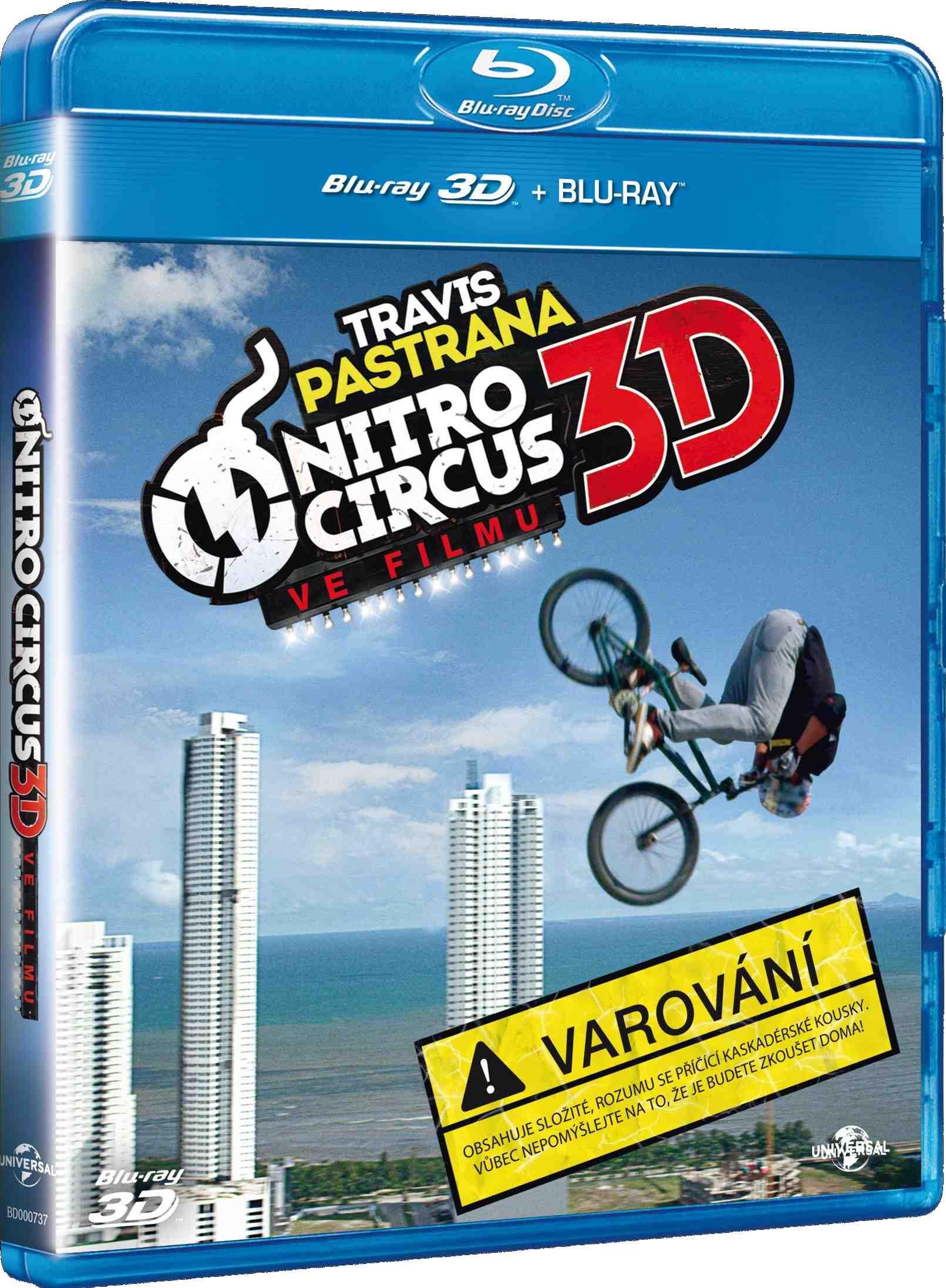 NITRO CIRCUS - Blu-ray 3D + 2D