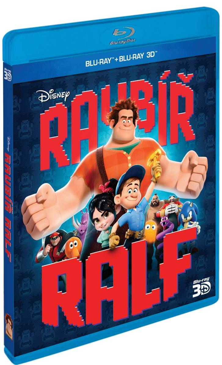 RAUBÍŘ RALF (2 BD) - Blu-ray 3D + 2D