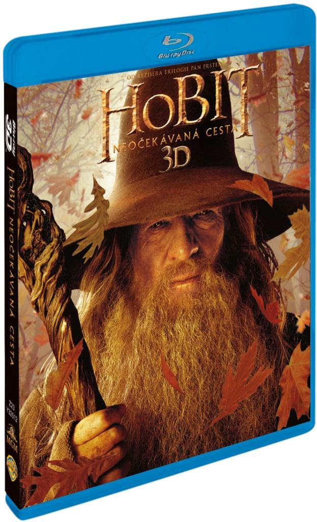 HOBIT: NEOČEKÁVANÁ CESTA - Blu-ray 3D + 2D (4 BD)