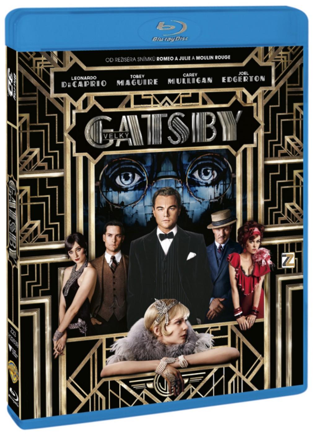 VELKÝ GATSBY (2013) - Blu-ray 3D + 2D